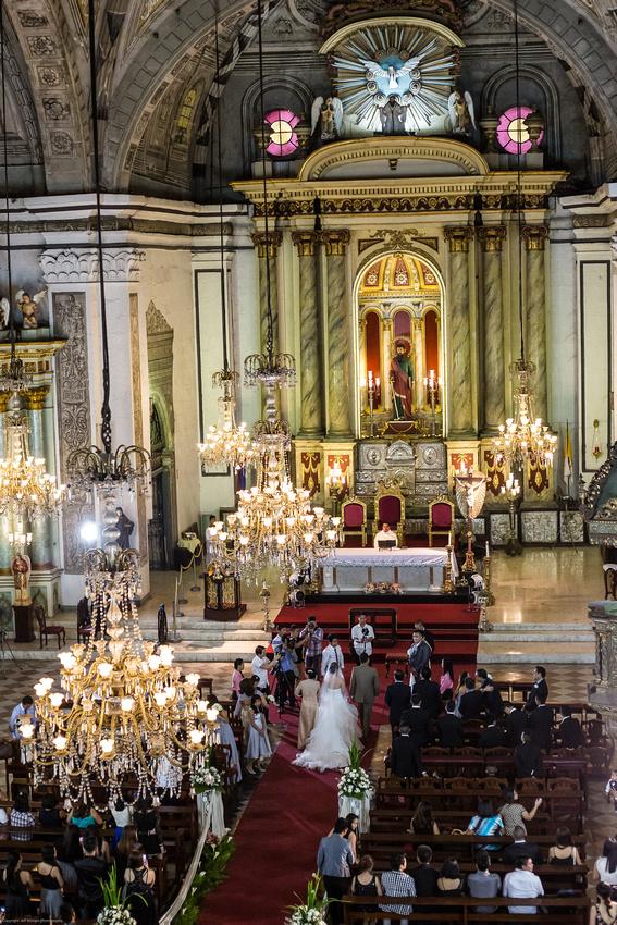 Iglesia De San Augustin Wedding 1